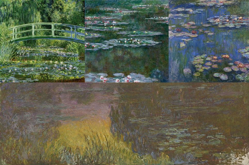 Monet Collage